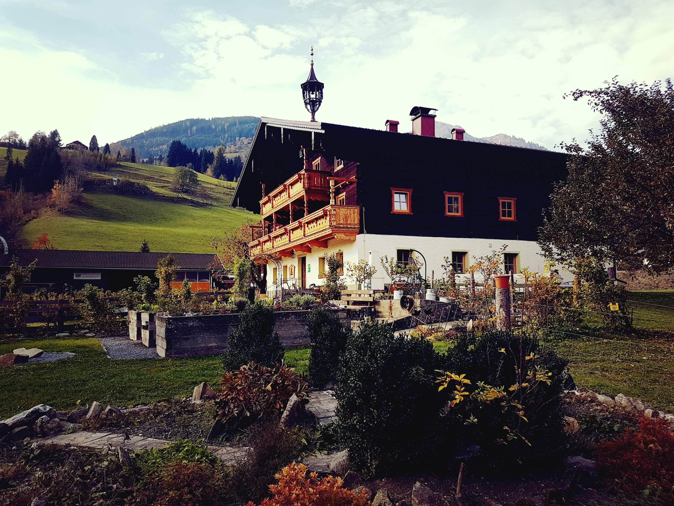 Frontansicht Bauernhof Zittrauerhof Bad Hofgastein