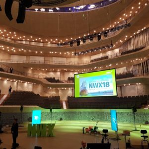 Xing New Work Experience - Auftakt mit Key Note Speakern in der Elbphilharmonie