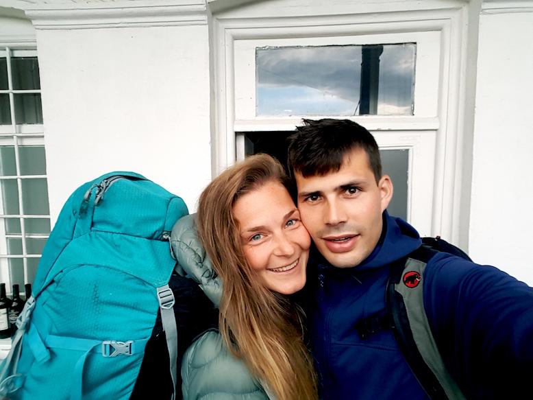 Abschied aus Tbilisi, das letztes Foto der Weltreise