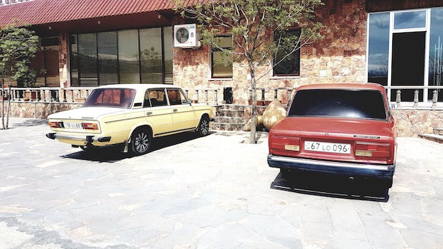 Ladas als armenische Nationalautos