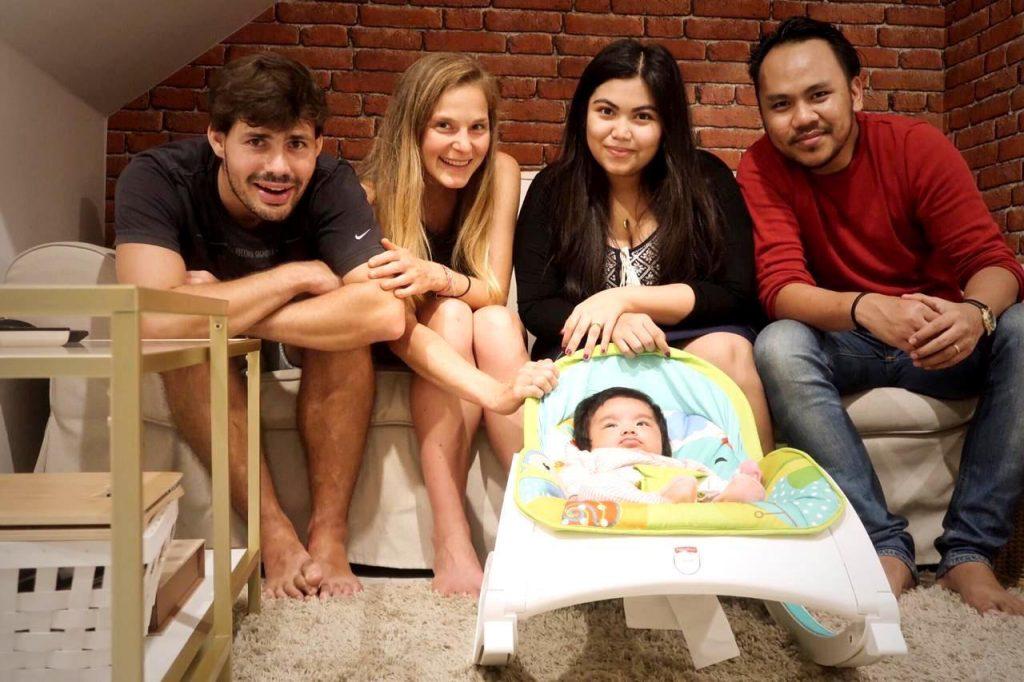 Zeit bei unseren Freunden Ridha und Zikra in Jakarta