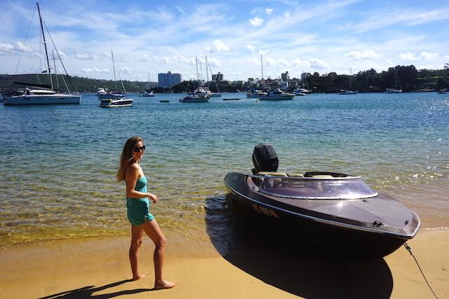 Bootsausflug am Ostersonntag zum Store Beach in Sydney