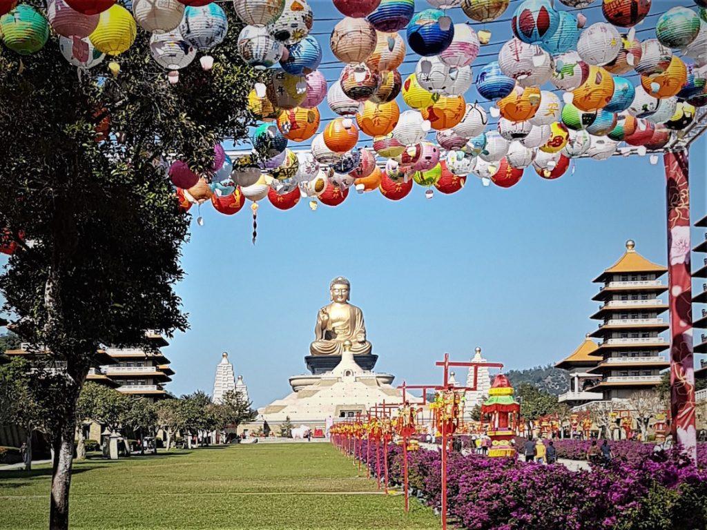 Besuch des weitläufigen Buddha Museums in Taiwan