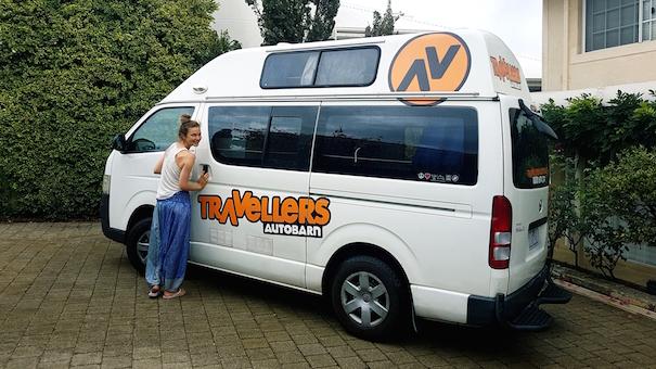 Unser Van kurz vor Rückgabe in Perth