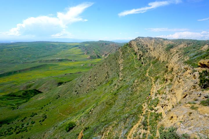 Grenzgebiet zwischen Aserbaidschan und Georgien