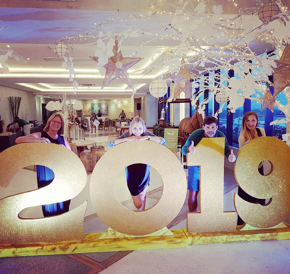 Silvesterabend im Hotel Maayo in Cebu