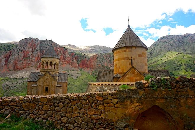 Klosteranlage Noravank in Armenien