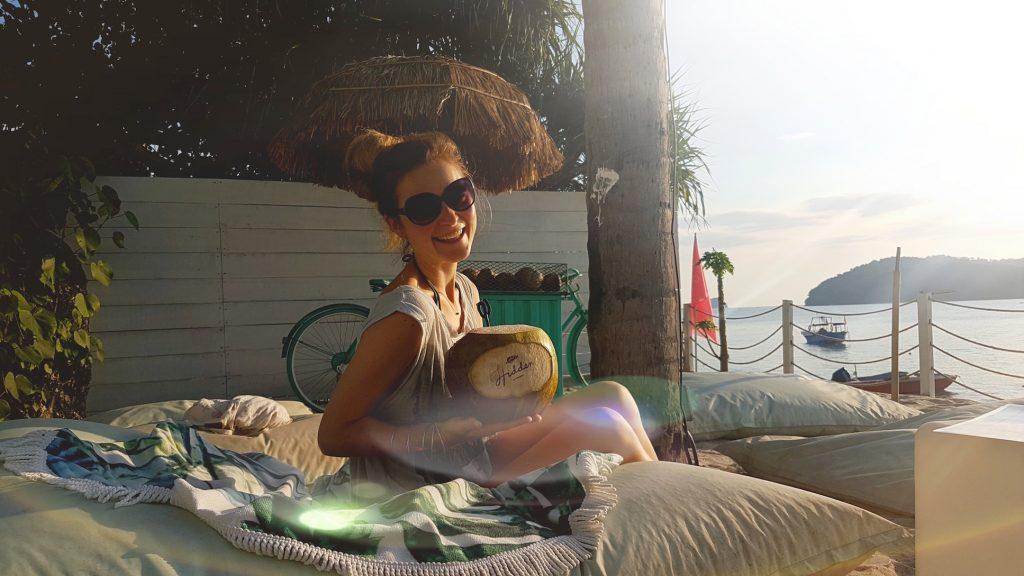 Urlaubsfeeling am Strand von Langkawi