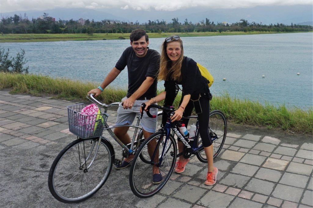 Radausflug um den See in Taitung