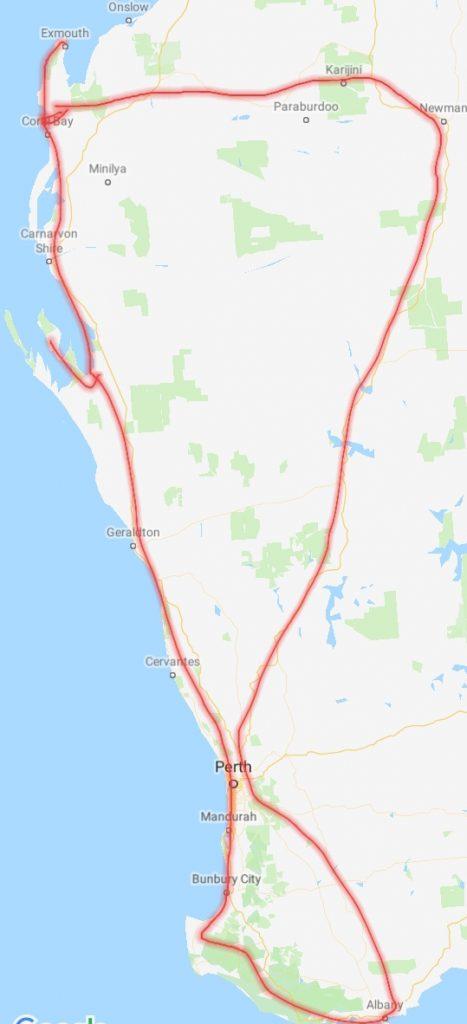 Drei Wochen, 6000km durch WA