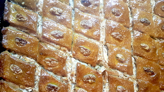 Armenisches Baklava aus Goris