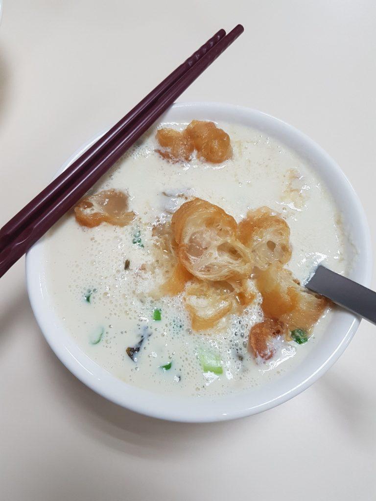 Frühstückssuppe in Taiwan