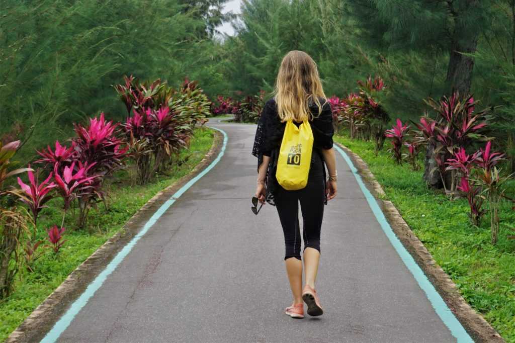 Walking the roads of Taitung, Taiwan