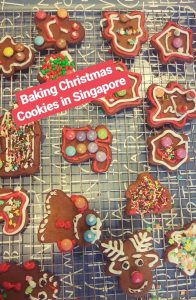Christmas cookies made in Singapore