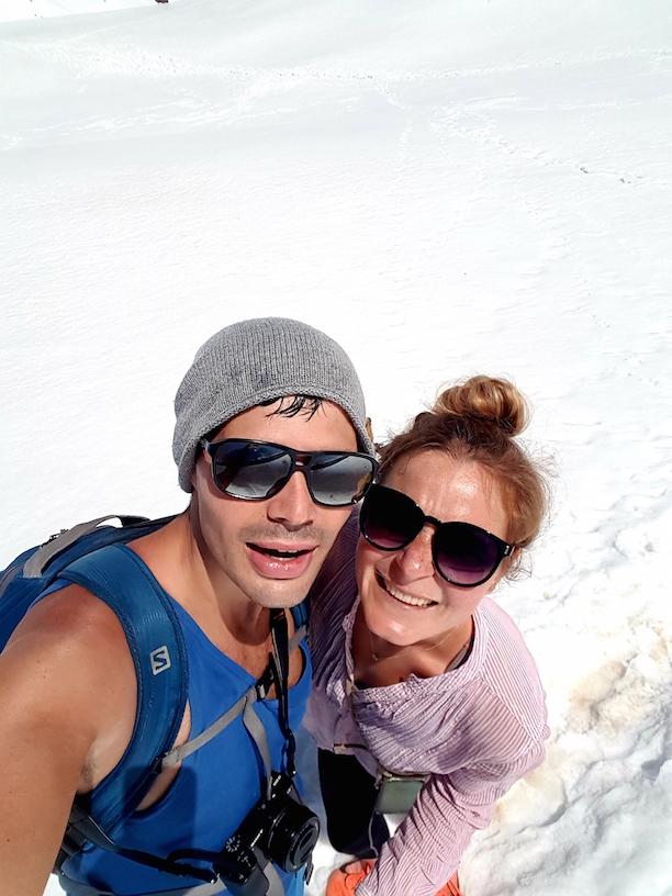 Schnee, Sonne und Schweiß bei unseren Wanderungen in Georgien